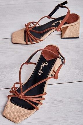 Bambi Taba Kadın Açık Ayakkabı L0671303465