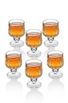 Queen's Kitchen Kristal Kesme 6 Adet Kahve Yanı Su / Likör Bardağı