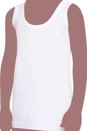 Tutku Erkek Çocuk Beyaz 6'lı Paket 124 Pamuklu Süprem Penye Atlet 0124