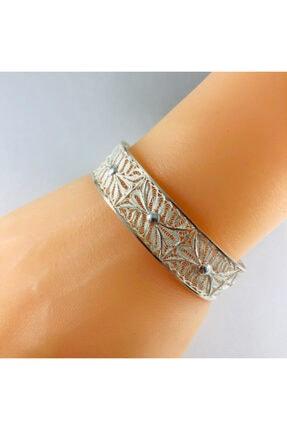 Sungurbey Gümüş Dünyası Telkari El Sanatı Gümüş Bayan Bilezik