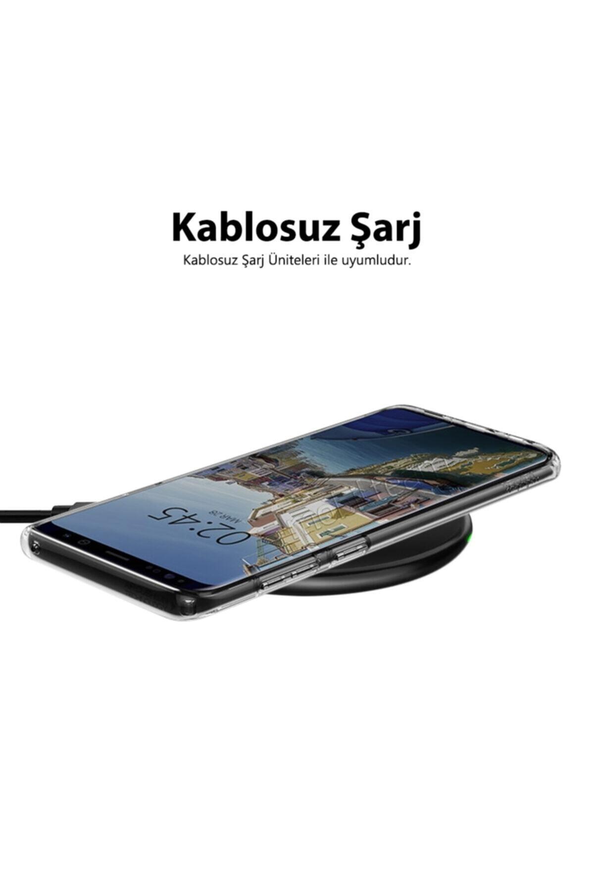 Mobilteam Apple Iphone X Kılıf Şeffaf Süper Silikon Kapak 2
