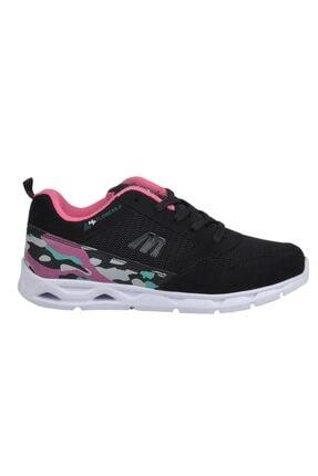 MP 201-7405 Siyah Yazlık Yürüyüş Koşu Bayan Spor Ayakkabı