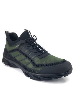 MARCOMEN 20ka 1933 Günlük Erkek Ayakkabı Yeşil