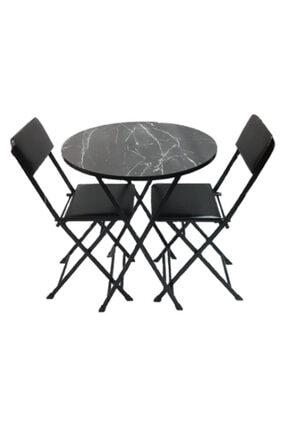 SadeceOnda Yuvarlak Masa Sandalye Takımı