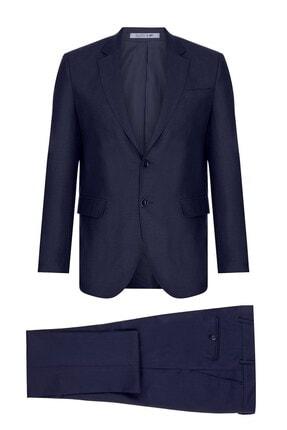 İgs Erkek Lacivert Barı / Geniş Kalıp Std Takım Elbise
