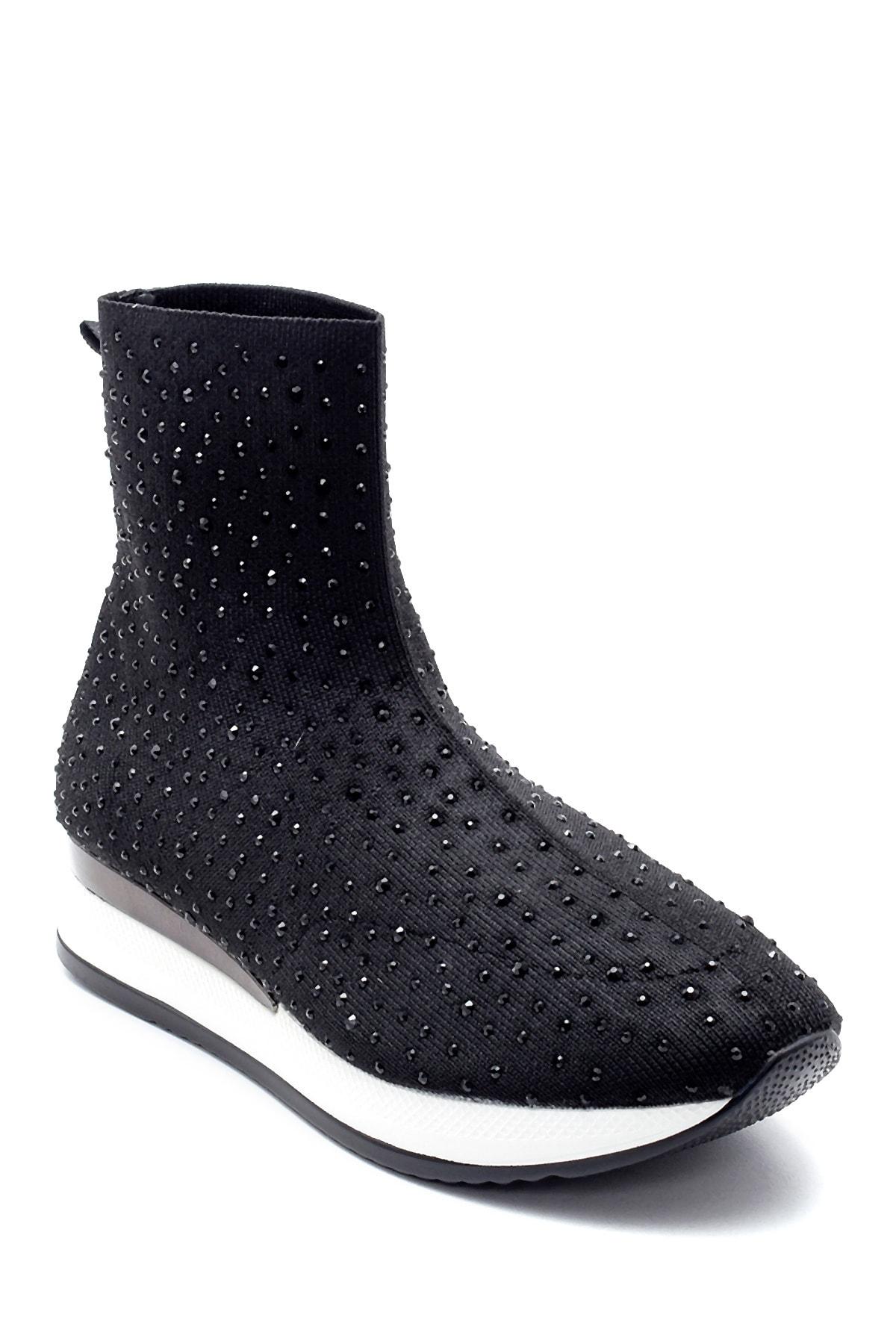Derimod Kadın Yüksek Tabanlı Çorap Bot 2