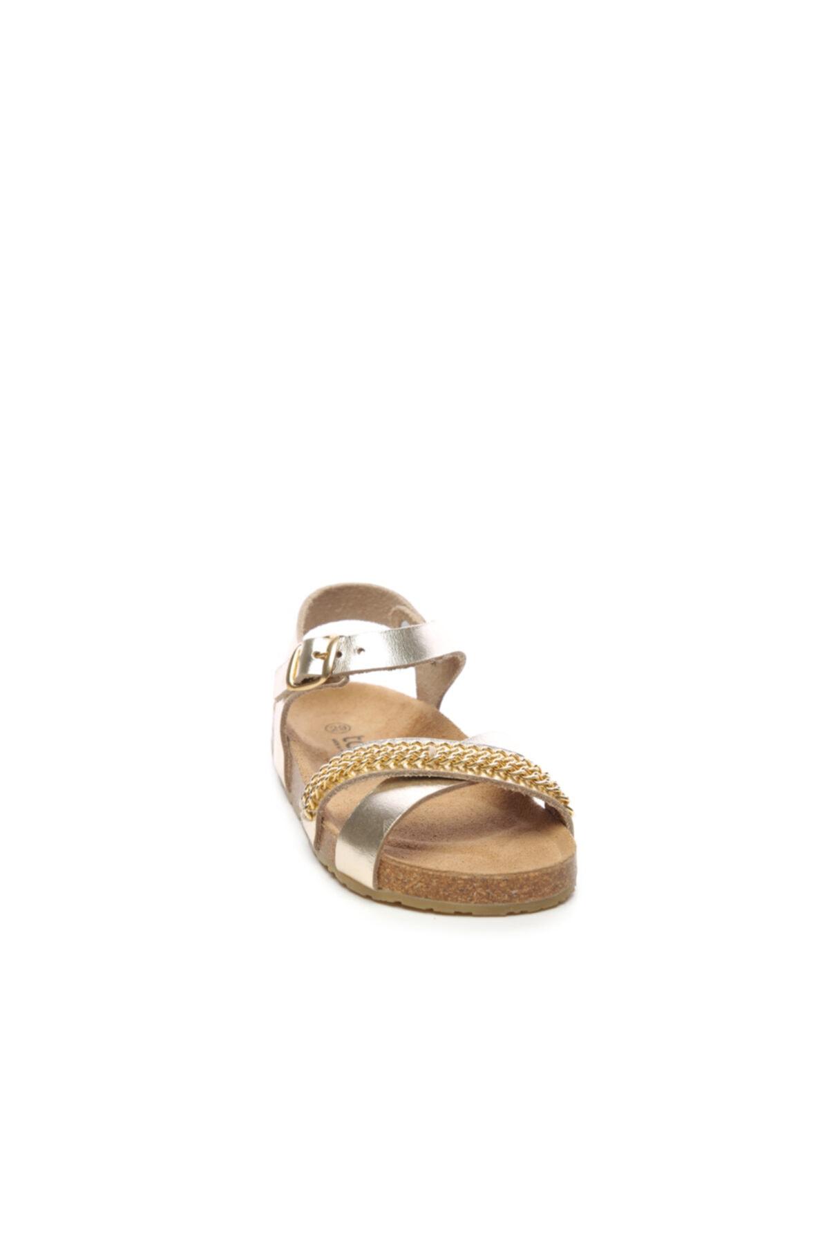 Chili Chılı Çocuk Derı Sandalet Sandalet 104 11529 Kız Sand 20/30 2