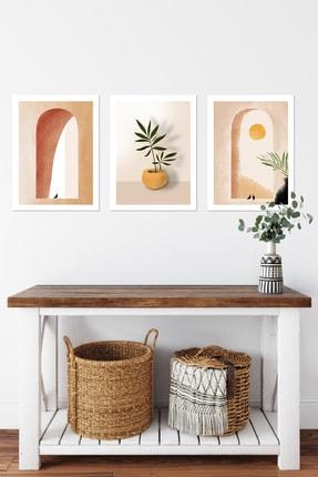 DUWART Premium Çerçevesiz Poster| Dove 3'lü Poster Set | 30x40 Cm| Yatak Odası Salon Tablo