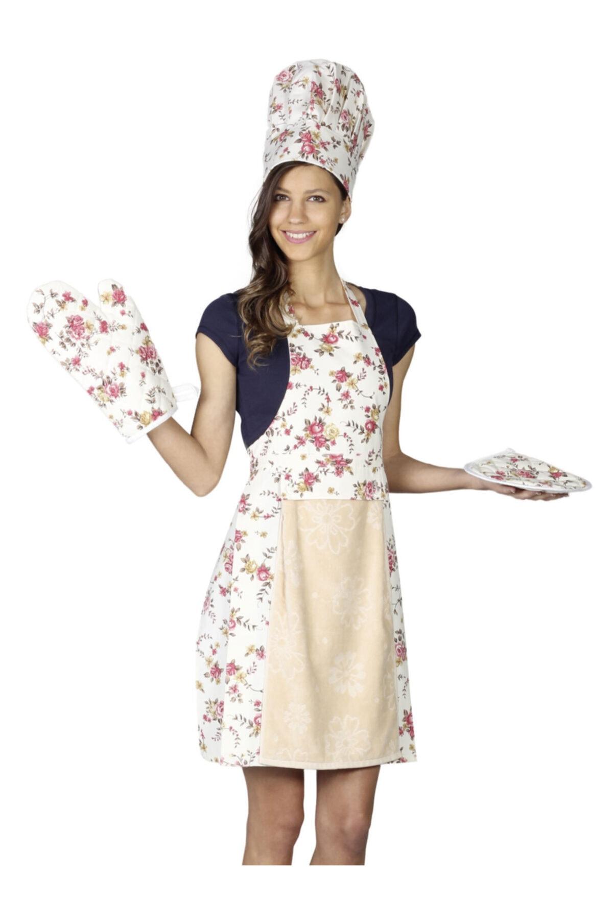 Anna Karina Home Consept Elit 5 Parça Mutfak Seti / Kitchen Set 1