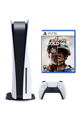 Sony Ps5 Playstation 5 Oyun Konsolu + Call Of Duty Black Ops Cold War