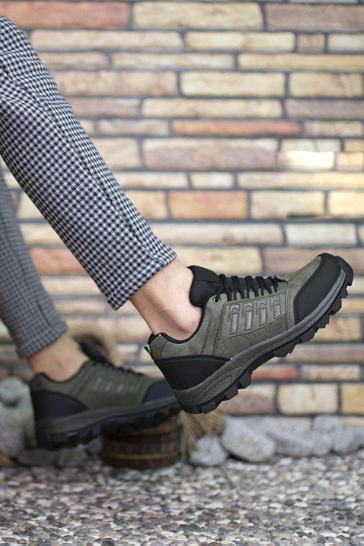 Riccon Haki Kadın Trekking Ayakkabı 0012x5 2