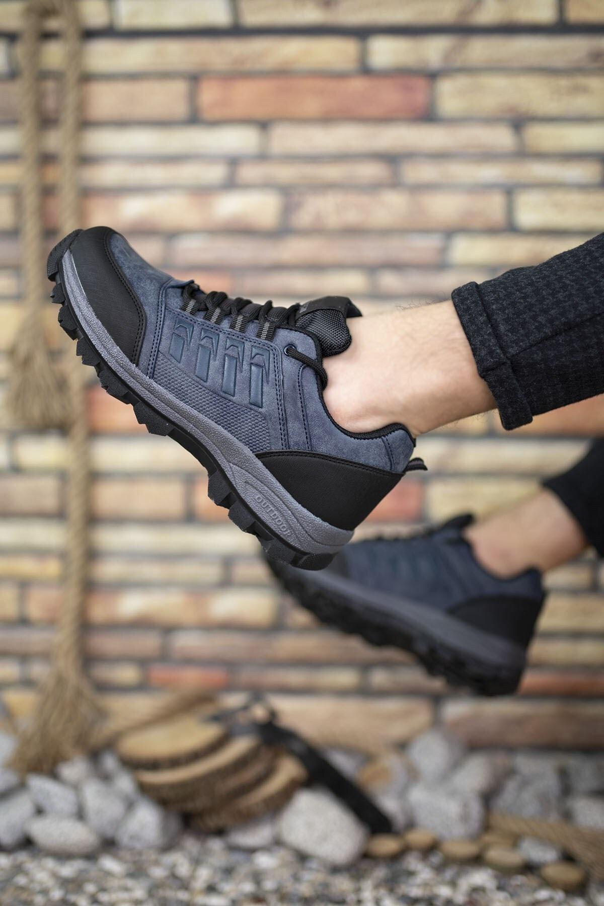 Riccon Lacivert Kadın Trekking Ayakkabı 0012x5 2