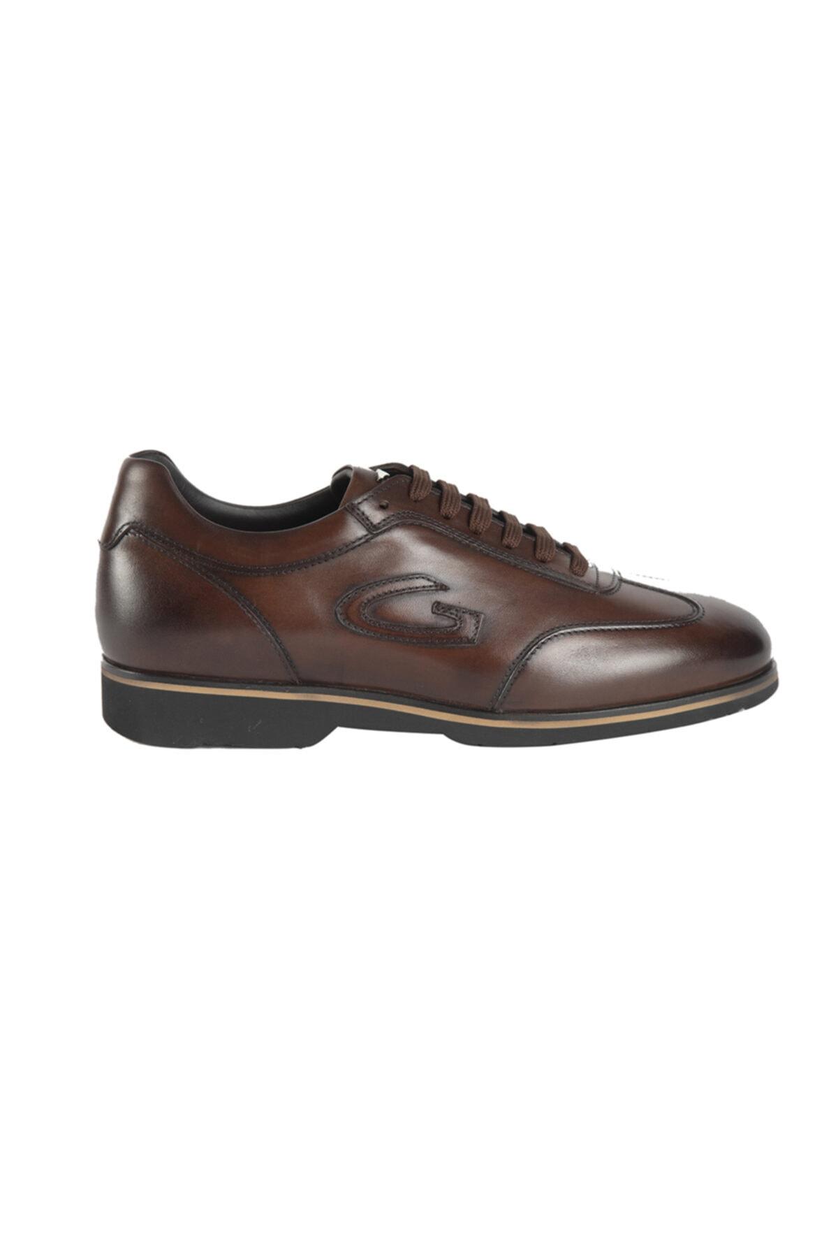 ALBERTO GUARDIANI Hakiki Deri Casual Erkek Ayakkabı 1