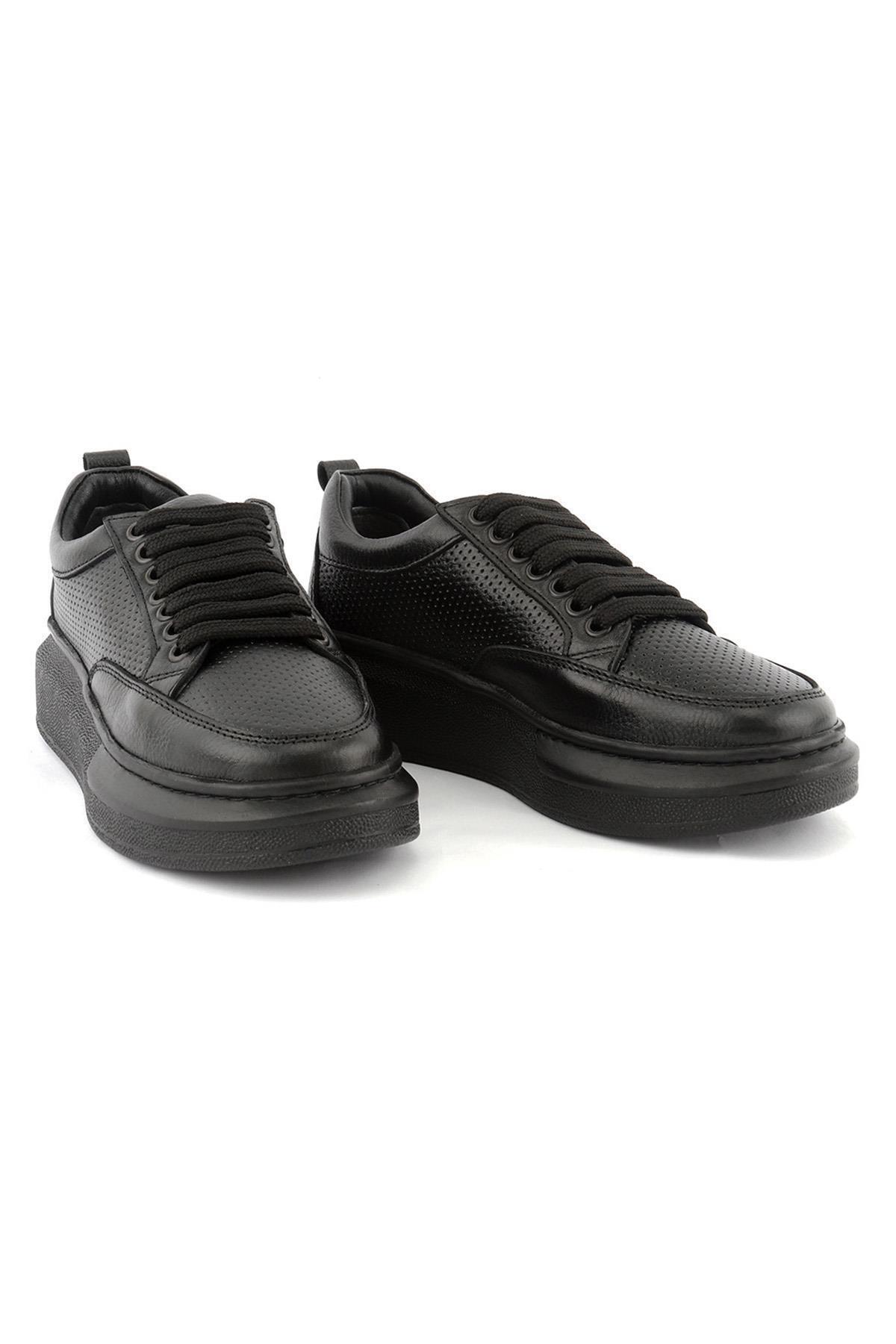 LETOON 2002 Erkek Deri Günlük Ayakkabı 2