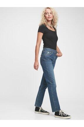 GAP High Rise Straight Jean Pantolon