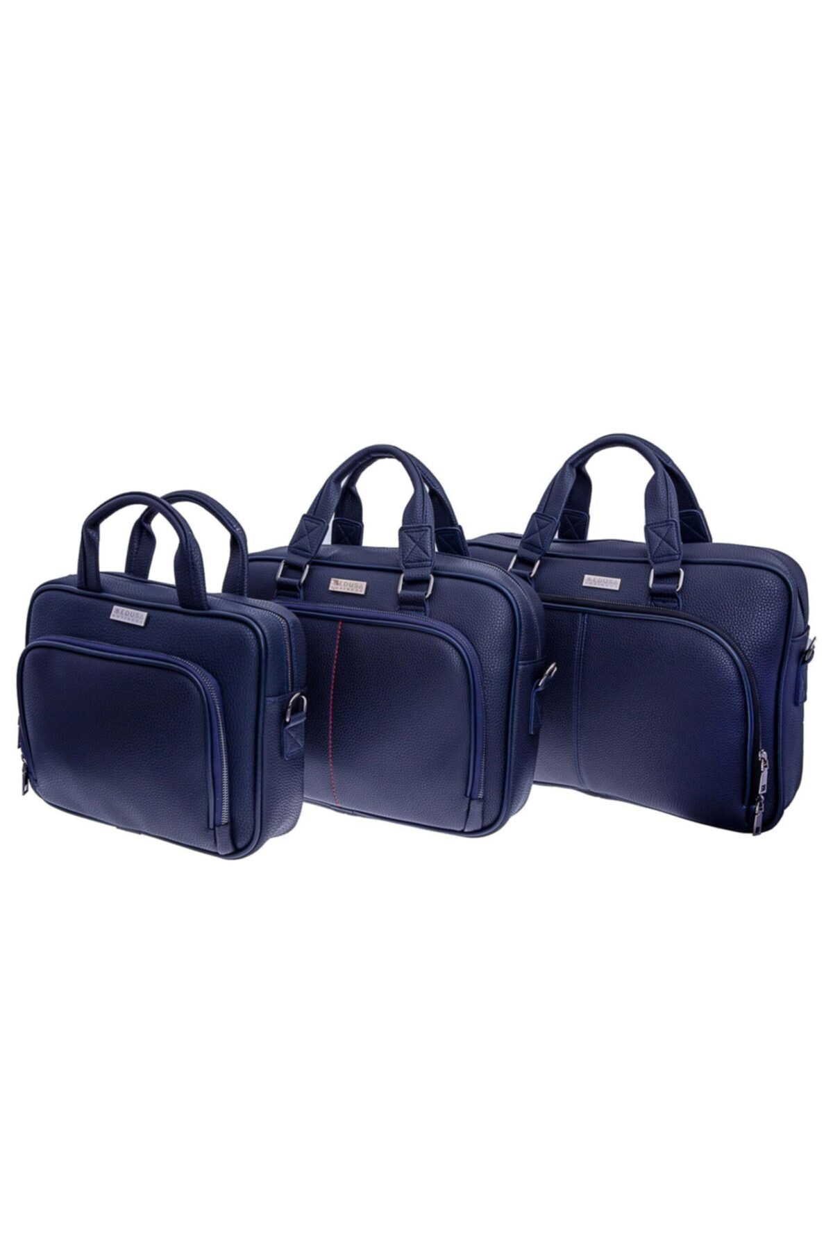 MEDUSA BUSİNESS Mavi Renk 15.6 Inch Laptop & Evrak Çantası 2