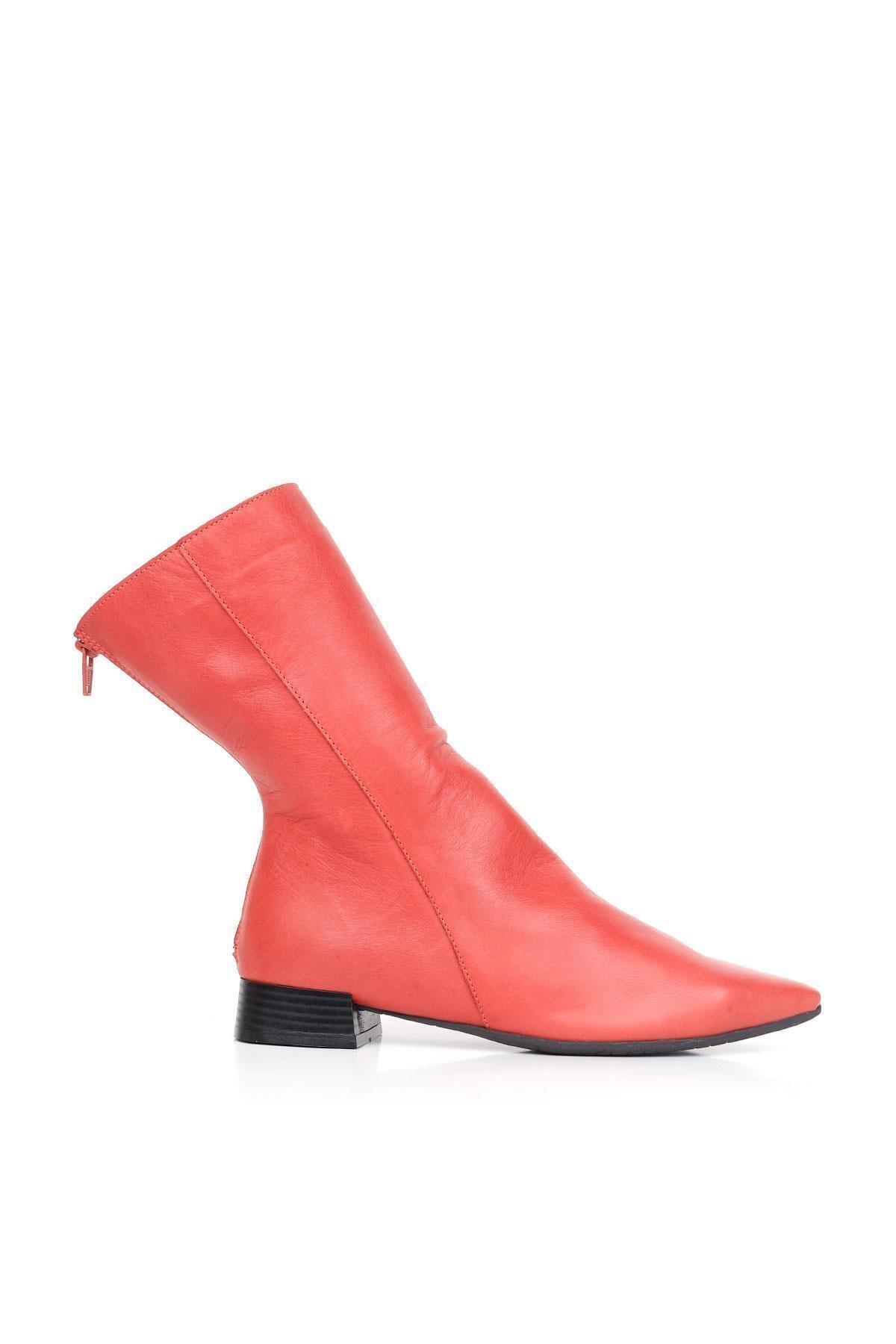 BUENO Shoes Hakiki Deri Kadın Topuklu Bot 01wr3011 1