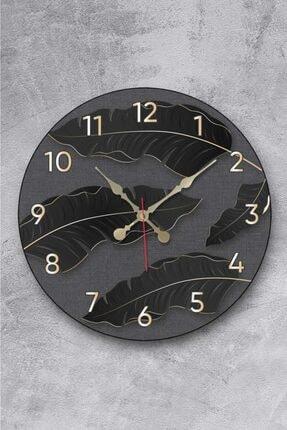 Revello Siyah Renk Tasarım Duvar Saati