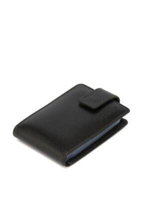 Tergan Hakiki Deri Siyah Unisex Kredi Kartlık S1kk00001512