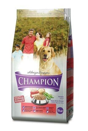 Champion Kuzu Etli Pirinçli Yetişkin Köpek Maması 15 Kg