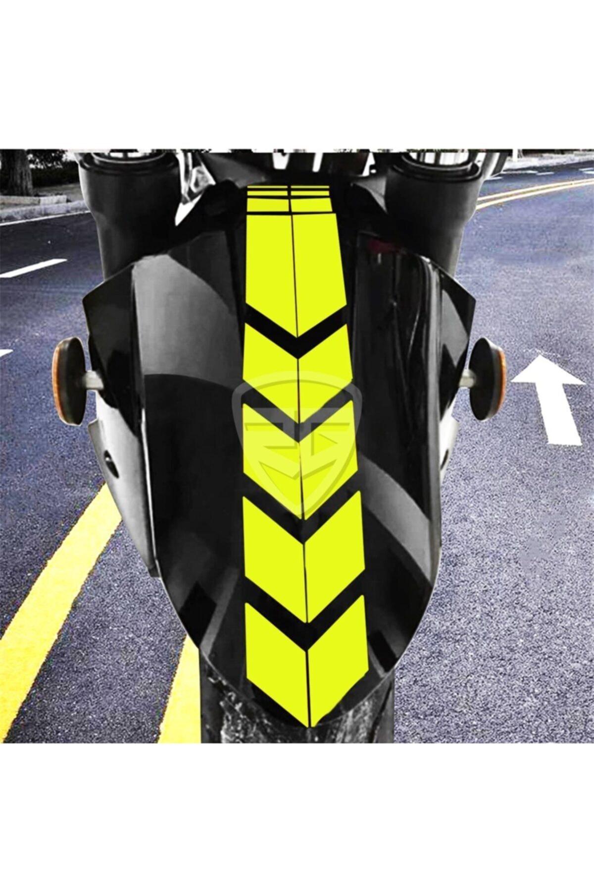 3M Motosiklet Çamurluk Sticker Sarı 1