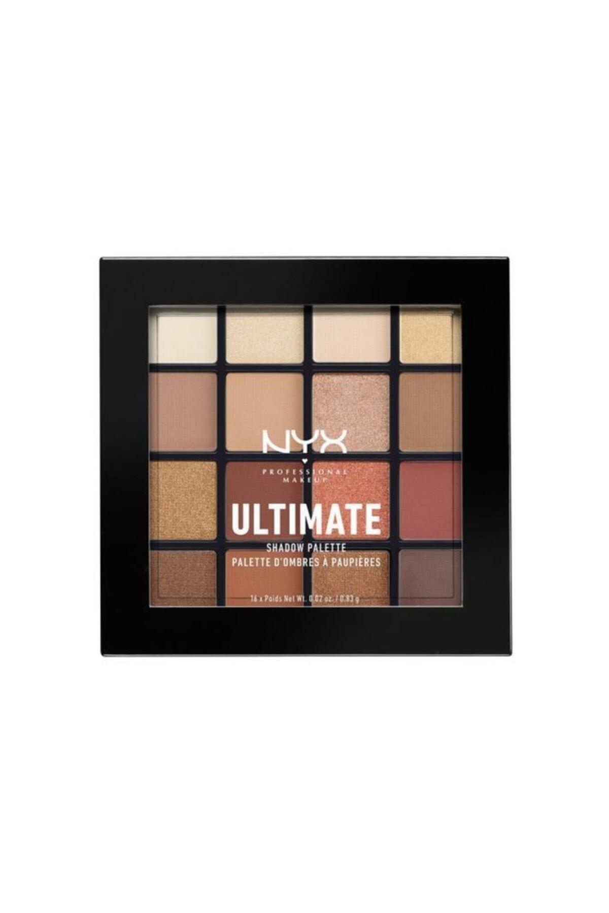 NYX Professional Makeup Pubgm Ultimate Shadow Palette Warm Neutrals - Far Paleti 2