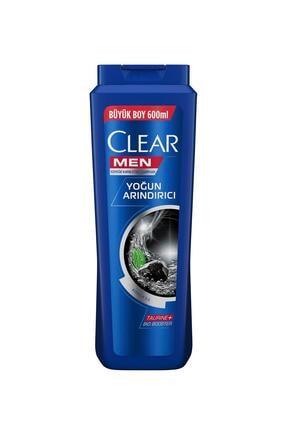 Clear Men Yoğun Arındırıcı Kömür Özlü Şampuan 600 ml