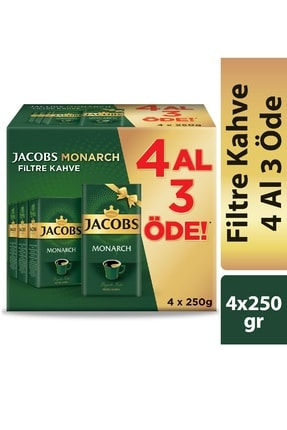 Jacobs Monarch Filtre Kahve 250 gr 4 Al 3 Öde