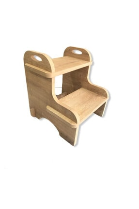 3Ekip Ahşap Montessori Ikili Basamak Demonte