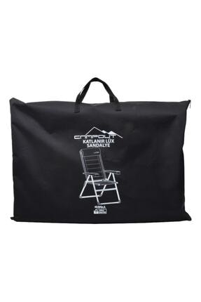NURGAZ Campout Lüx Sandalye Çanta Siyah
