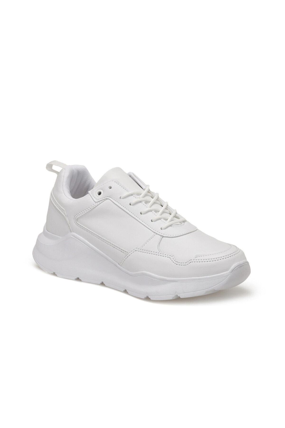 FORESTER EC-1065 Beyaz Erkek Kalın Taban Sneaker Spor Ayakkabı 100569501 1