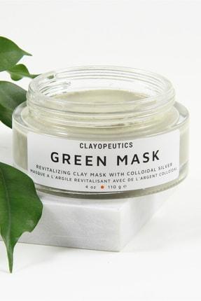 CLAYOPEUTICS Green Mask / Doğal Vegan Yeşil Kil Maskesi 110 gr