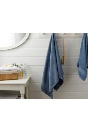 English Home Pure Basic Banyo Havlusu 100X150 Cm Koyu Mavi
