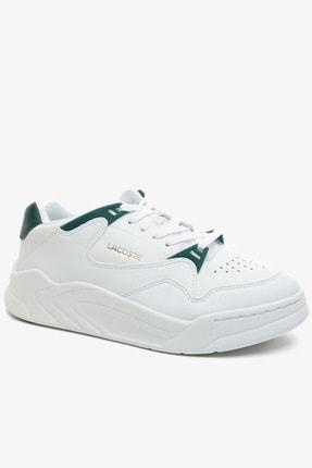 Lacoste Court Slam 0721 1 Sfa Kadın Beyaz Sneaker 741SFA0076
