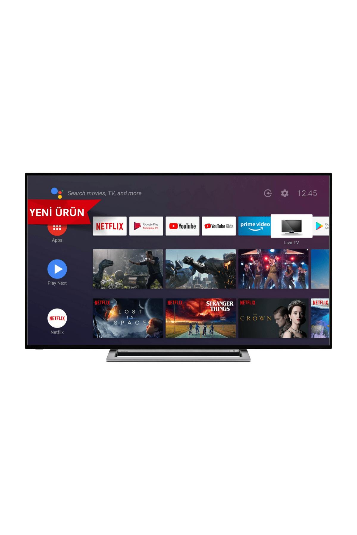 """Toshiba 65UA3A63DT 65"""" 165 Ekran Uydu Alıcılı 4K Ultra HD Smart LED TV"""