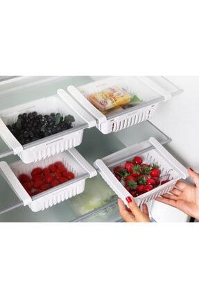 Tuka Home Ayarlanabilir Buzdolabı Dolap Içi Sepet Organizeri