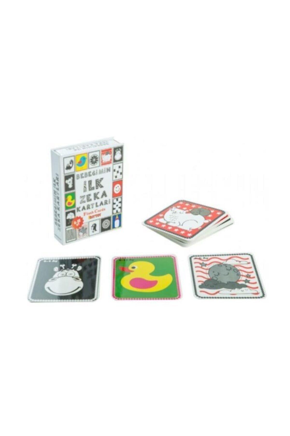 DIYTOY 4'lü Eğitim Seti - Ilk 50 Sözcük, Meyveler, Hayvanlar ve Bebeğimin Zeka Kartları 2