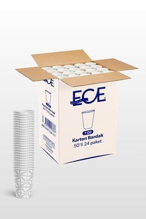Ece 7 Oz Lüx Karton Bardak 1200 Adet