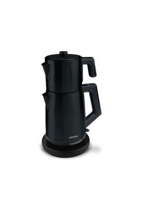 GOLDMASTER Incedem Çelik Siyah Çay Makinesi Ve Su Isıtıcı In 6306s