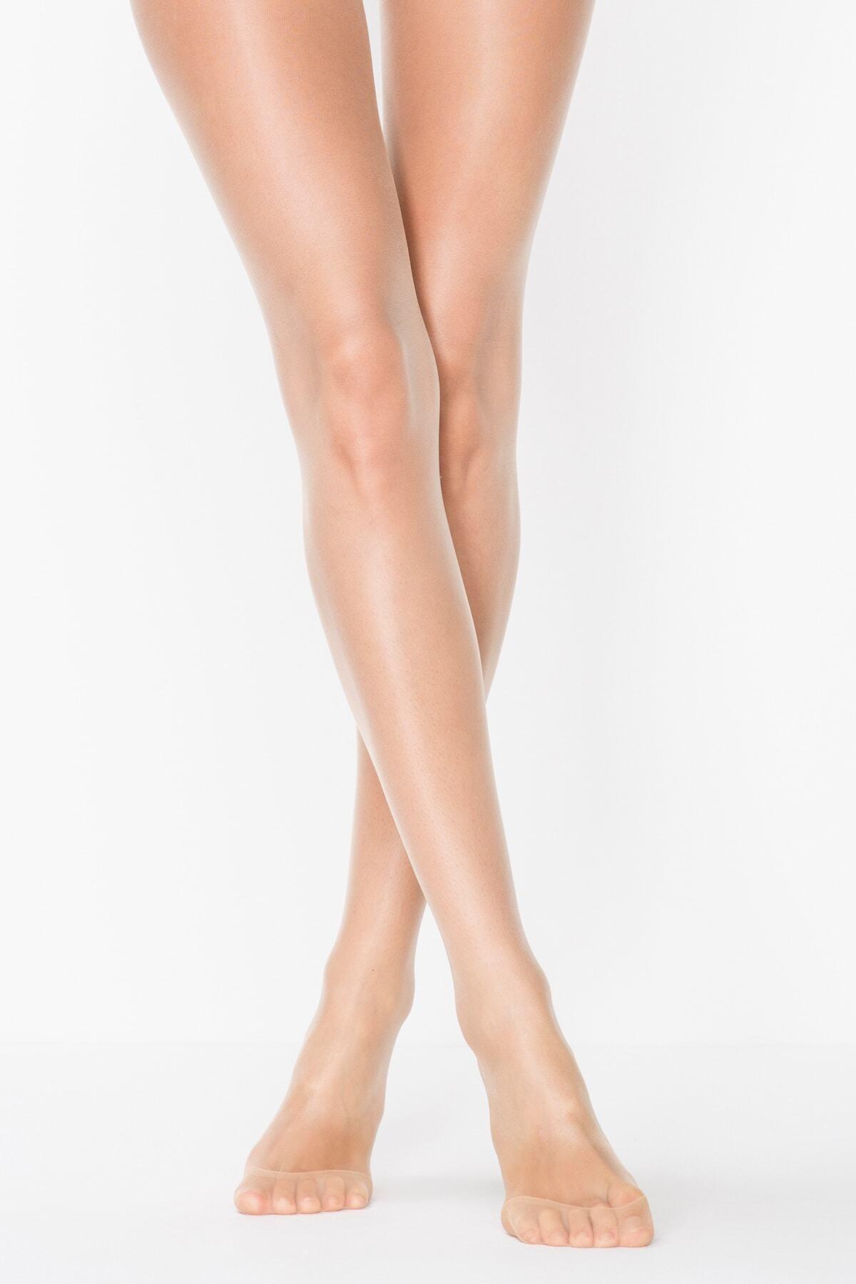 Penti Kadın Ten 57 Fit 15 Külotlu Çorap 1