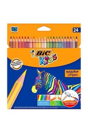 Bic Stripes Kuru Boya Kalemi 24 Lü Kutu 950525