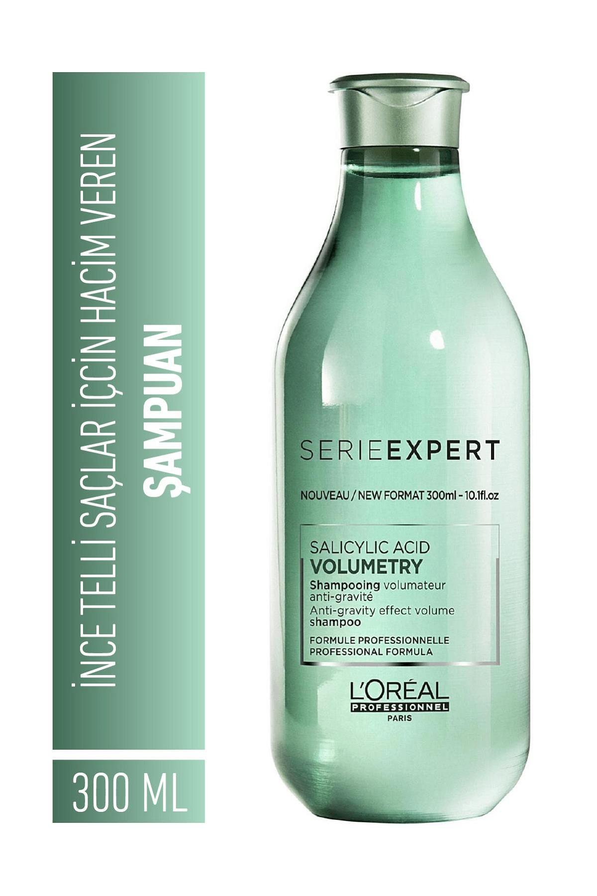 L'oreal Professionnel Serie Expert Volumetry İnce Telli Saçlar için Hacim Veren Şampuan 300 ml