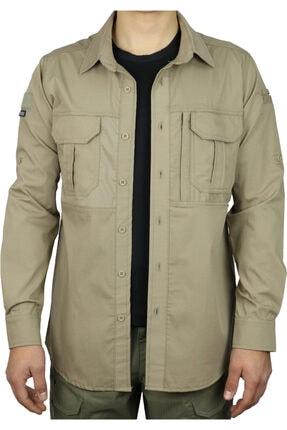 UNİFORMTÜRK Tactical Gömlek 520 (BEJ RENK)