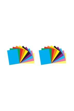 Umut Renkli Fon Kartonu 23x34 10'lu (2'li Paket)
