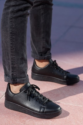 MUGGO Unisex Siyah  Sneaker Ayakkabı Svt21