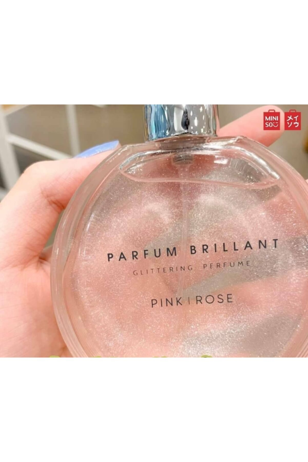 Miniso Mınıso Glittering Perfume (pink) 1