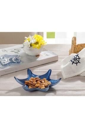 English Home Starfish Cam Çerezlik 18 Cm Lacivert