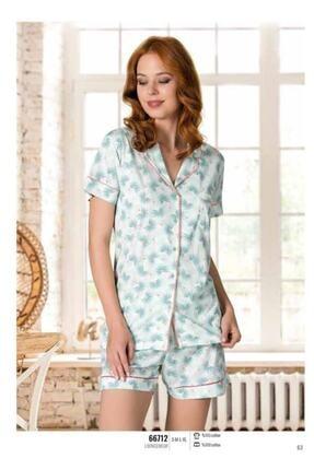 NBB Gömlek Şort Pijama Takımı 66712