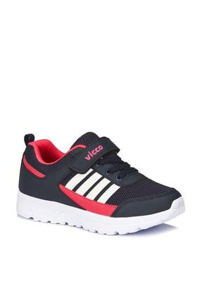 Vicco Kız Çocuk Lacivert Fuşya Spor Ayakkabı