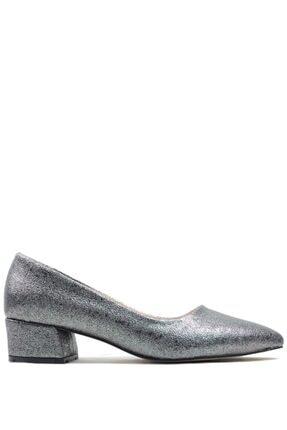 Buffalo Alice Gümüş Topuklu Ayakkabı
